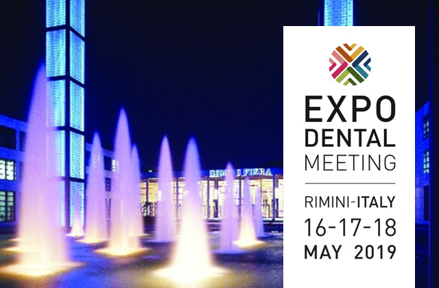 Expodental Meeting 2019 will be 16-19 May in Fiera Rimin
